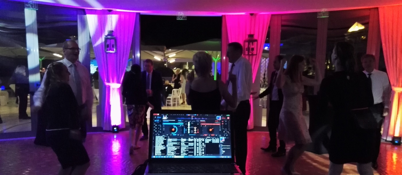 Corporate Event Lighting Ambience in Monaco, Cannes, St Tropez...