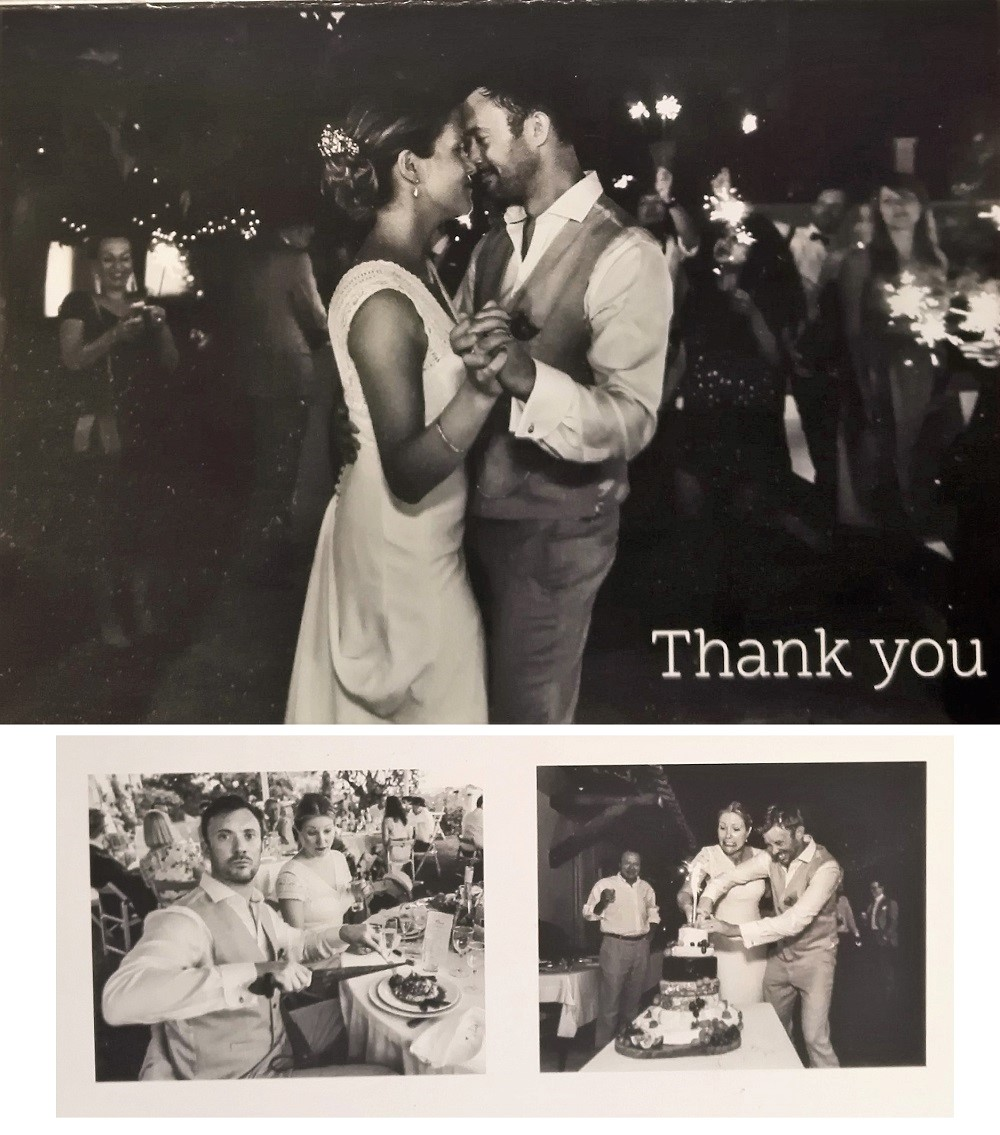 AzurBiz Entertainment - Review #3 - `Simon - Thank you again for making our wedding so special!... We had so many of our guests comment on how awesome you were...`