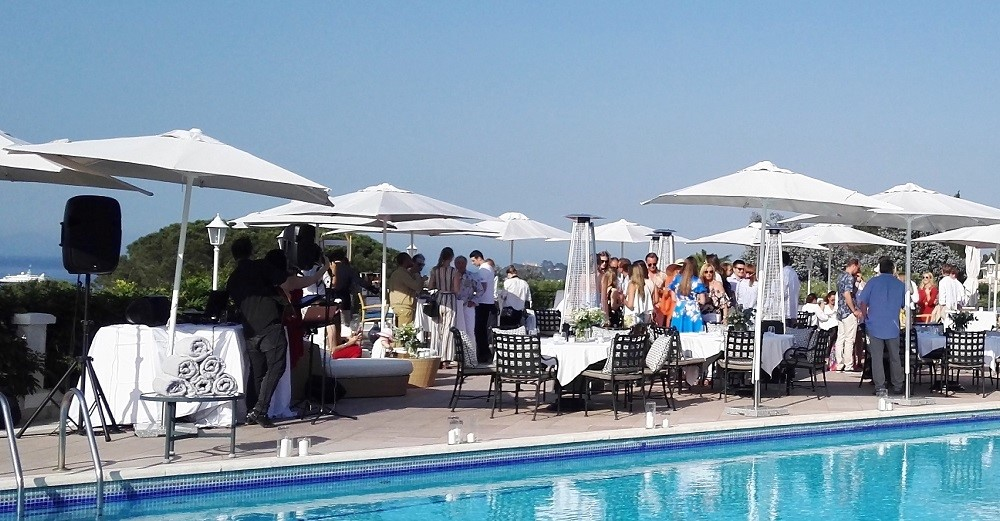 DJ for your marriage / cocktail reception in Cannes, St Tropez, Monaco, French Riviera