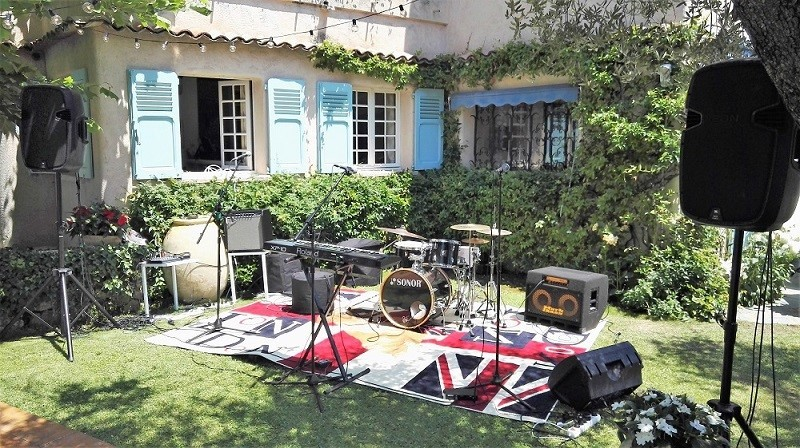 Band Equipment Rental - Drums, Guitar Amps, Keyboards, Mixers - in Cannes, Nice, Monaco, St Tropez, French Riviera